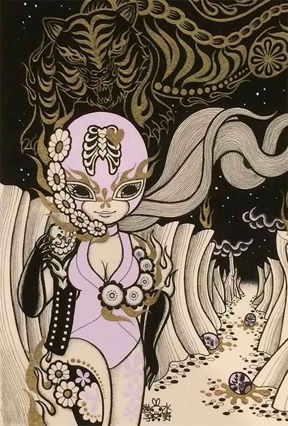Junko Mizuno, Tiger - Triad, The Cotton Candy Machine