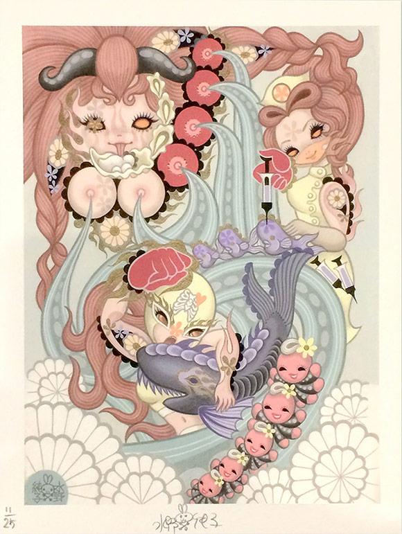 Junko Mizuno, Ocean - Triad, The Cotton Candy Machine