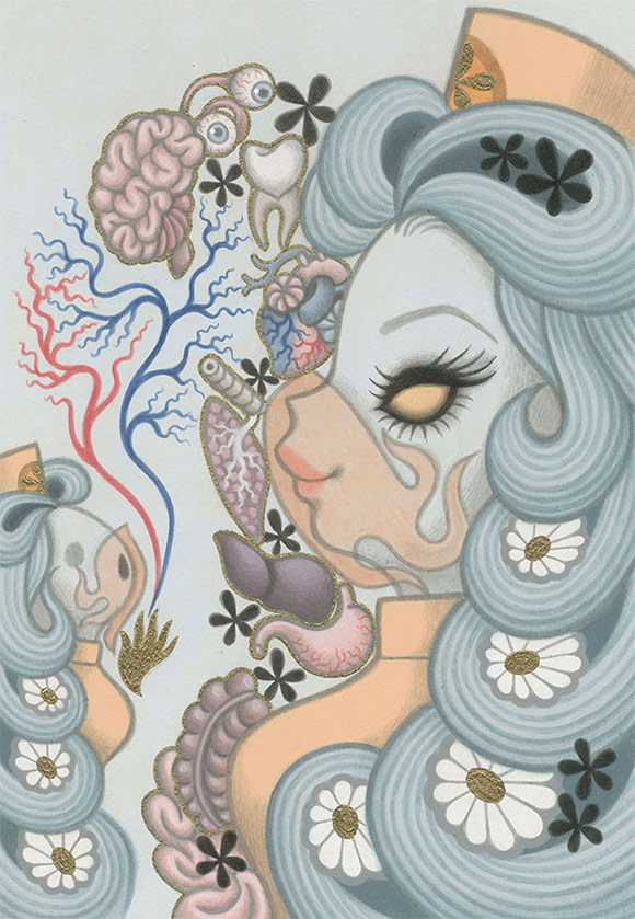 Junko Mizuno, Nurse - Triad, The Cotton Candy Machine