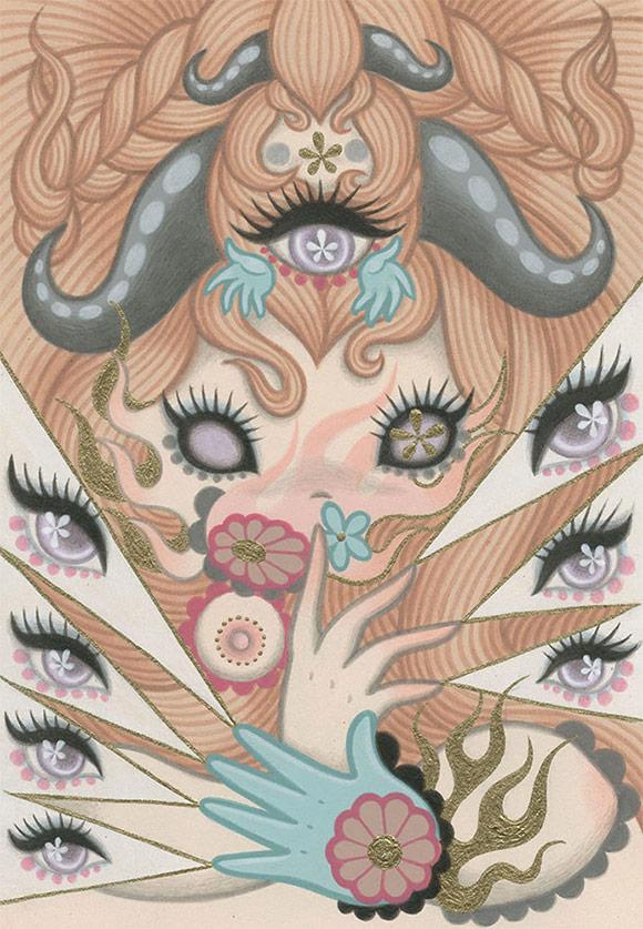 Junko Mizuno, Witch - Triad, The Cotton Candy Machine