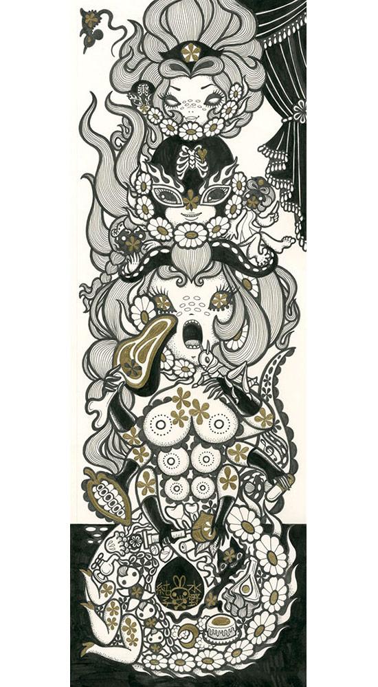 Junko Mizuno, Serpent - Triad, The Cotton Candy Machine
