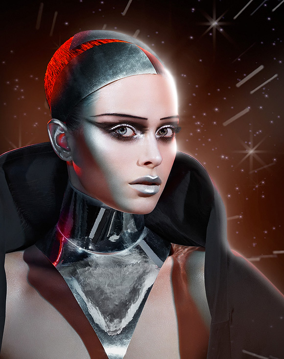 Disney + Max Factor: Captain Chrome by Pat McGrath