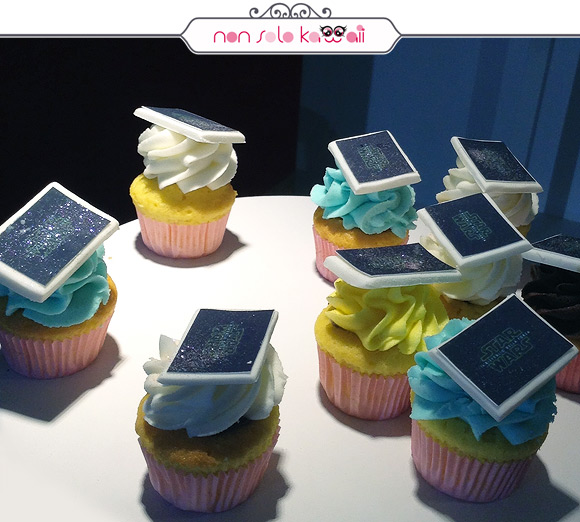 Disney Italia + Max Factor cupcake star wars