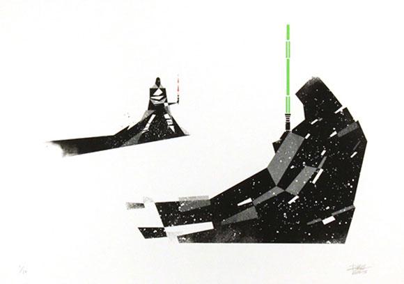 TELOS FACE-OFF, Dan Matutina - Star Wars Tribute Exhibition to the Classics, Nucleus Art Gallery