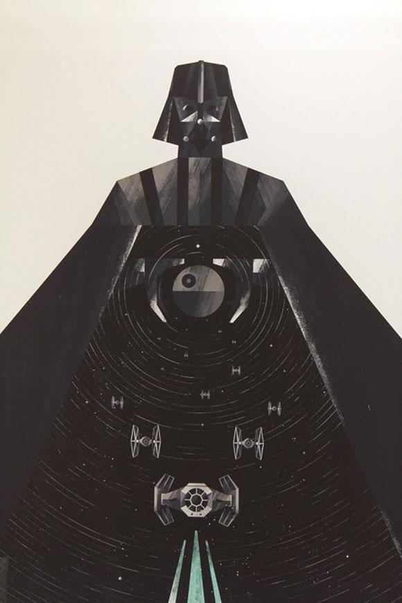 VADER IN YAVIN, Dan Matutina - Star Wars Tribute Exhibition to the Classics, Nucleus Art Gallery