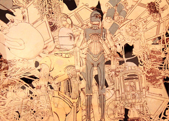 NEAR SIGHTED SCRAP PILE, John Mahone - Star Wars Tribute Exhibition to the Classics, Nucleus Art Gallery