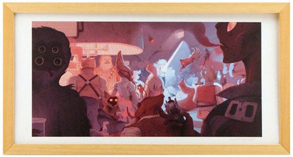 SCUM AND VILLAINY, Matt Rockefeller - Star Wars Tribute Exhibition to the Classics, Nucleus Art Gallery