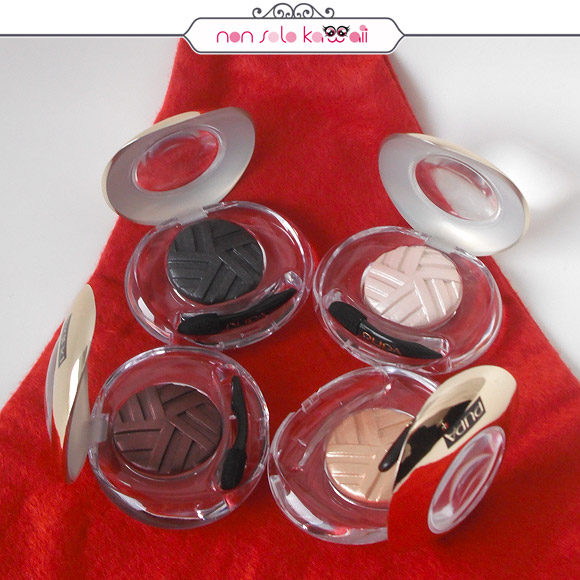 non solo Kawaii - Stay Gold! Eyeshadow 001 Black Refined, 002 Pure Skin, 003 Charming Burgundy, 004 Golden Light