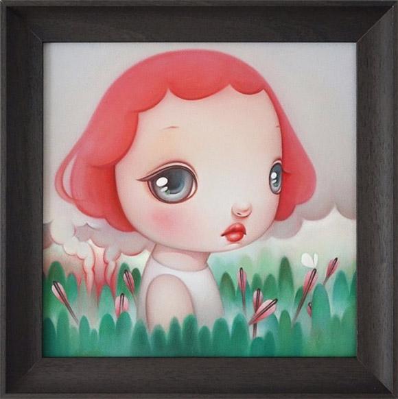 Carol Liu, White butterfly