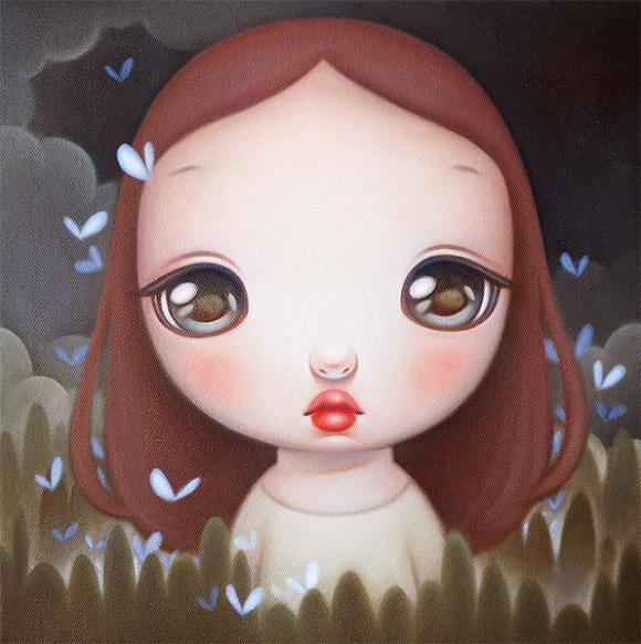Carol Liu, Blue butterfly