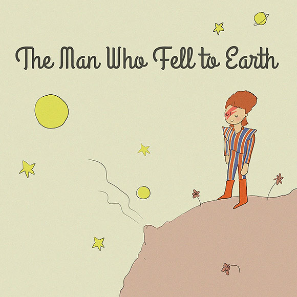 The man who fell to Earth is back amongst the stars - Jarrett J. Krosoczka