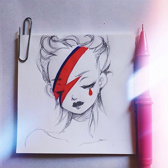 David Bowie - Nevilk Rocco Wagner