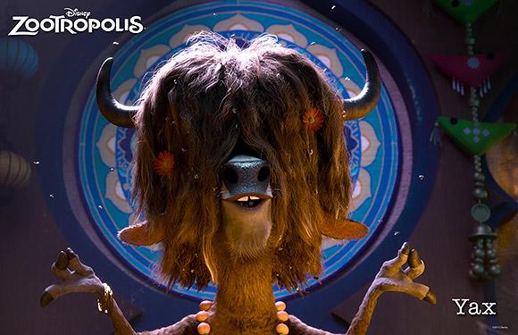 Walt Disney Animation Studios | Zootropolis or Zootopia, Yax