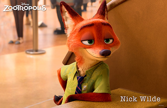 Walt Disney Animation Studios | Zootropolis or Zootopia, Nick Wilde