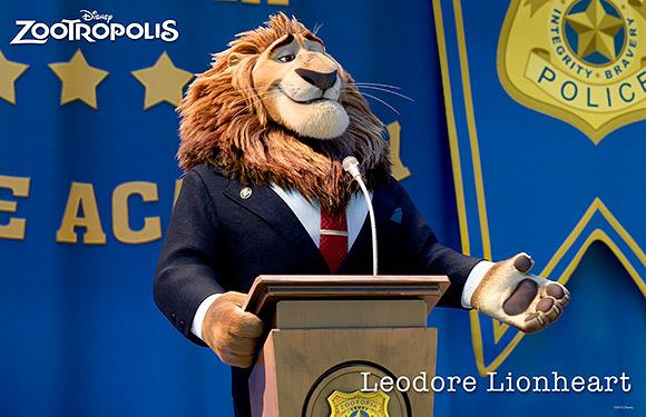 Walt Disney Animation Studios | Zootropolis or Zootopia, Leodore Lionheart