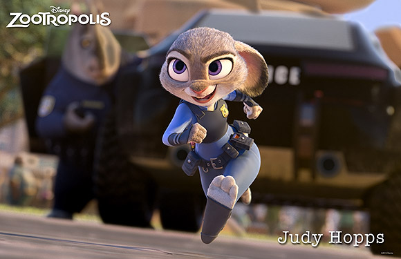 Walt Disney Animation Studios | Zootropolis or Zootopia, Judy Hopps