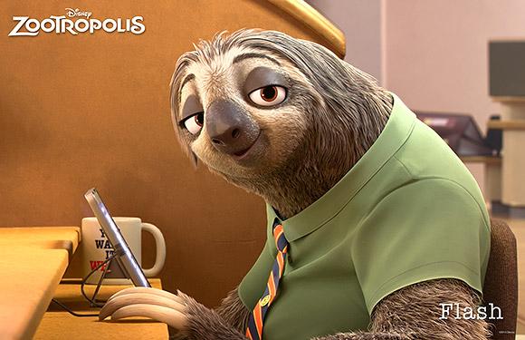 Walt Disney Animation Studios | Zootropolis or Zootopia, Flash