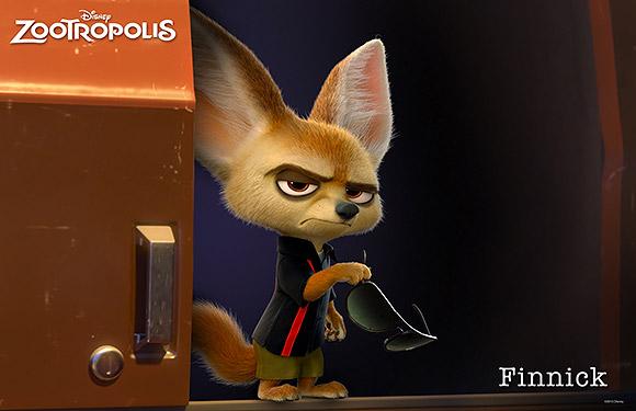 Walt Disney Animation Studios | Zootropolis or Zootopia, Finnick