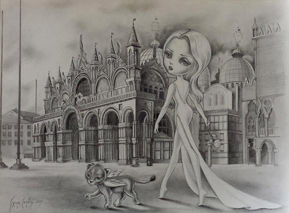 Simona Candini - Things Untold   Lápiz, Papel o Tijera - Plastic Murs