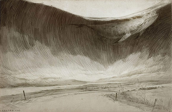 Rovina Cai - Iceland Sketches: Series