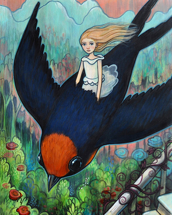 Kelly Vivanco, Above the World - Tendrils, Distinction Gallery