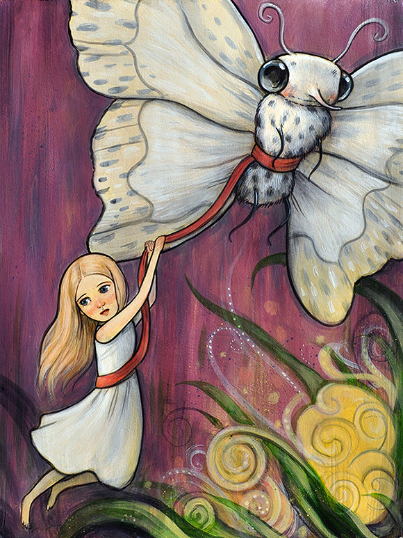 Kelly Vivanco, Fly Away - Tendrils, Distinction Gallery