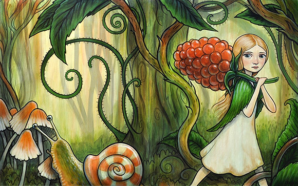 Kelly Vivanco, Small Harvest - Tendrils, Distinction Gallery
