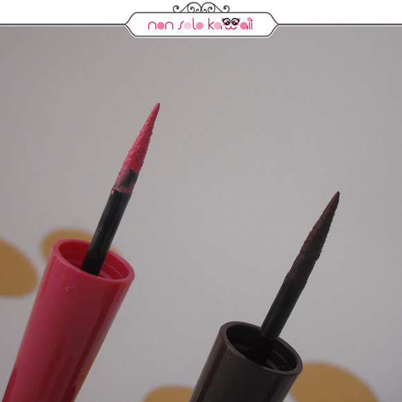 non solo Kawaii - Pupa Dot Shock, VAMP! Definition liner 002 Pink Marshmallow, 001 Creamy Chocolate