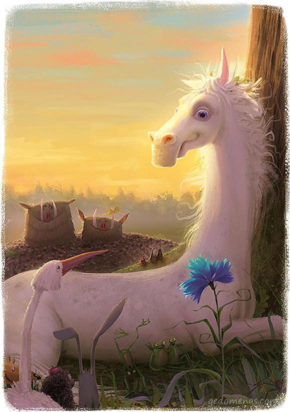 Gediminas Pranckevicius, Dominic The Horse In The Spirit Kingdom (Children's book)