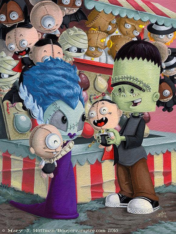 Boogervampire, Carnival Casanova - Hello Kitty & 99 Friends - PIQ Grand Central Terminal
