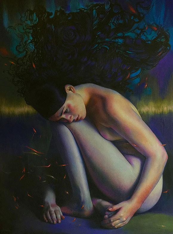 Jel Ena, Phoenix - Aestheticism, Vanilla Gallery