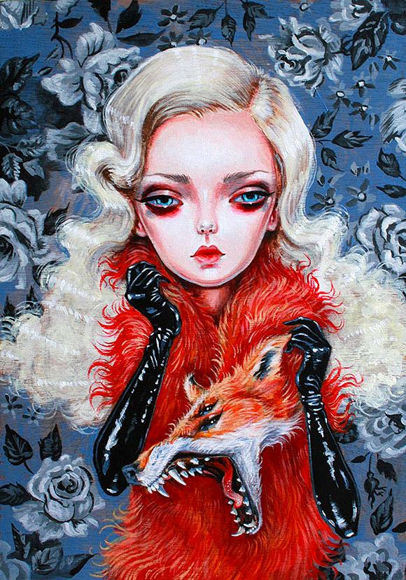 Julie Filipenko, Lovesick Lullaby - Aestheticism, Vanilla Gallery