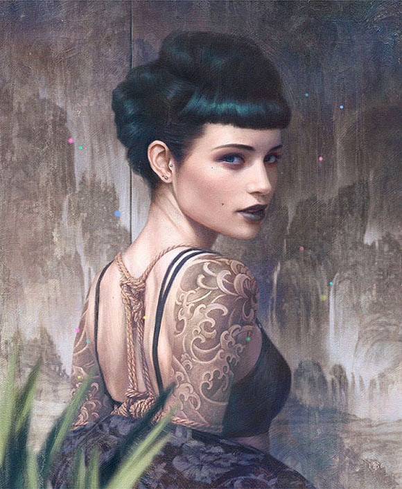 Tom Bagshaw, Deeper Water - Aestheticism, Vanilla Gallery