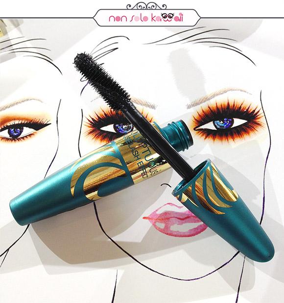 Max Factor Make up School con Rajan Tolomei, Voluptuous False Lash Effect Mascara