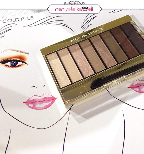 Max Factor Make up School con Rajan Tolomei, Palette Masterpiece 01 Cappucino Nudes