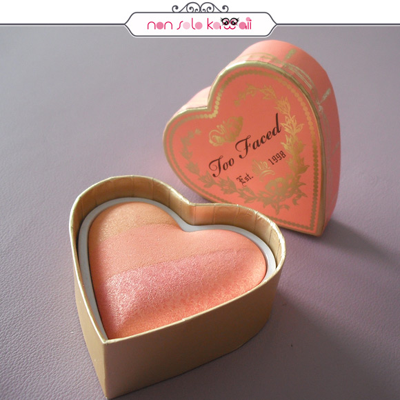 non solo Kawaii - Too Faced Sweetheart's perfect Flush Blush Peach Beach