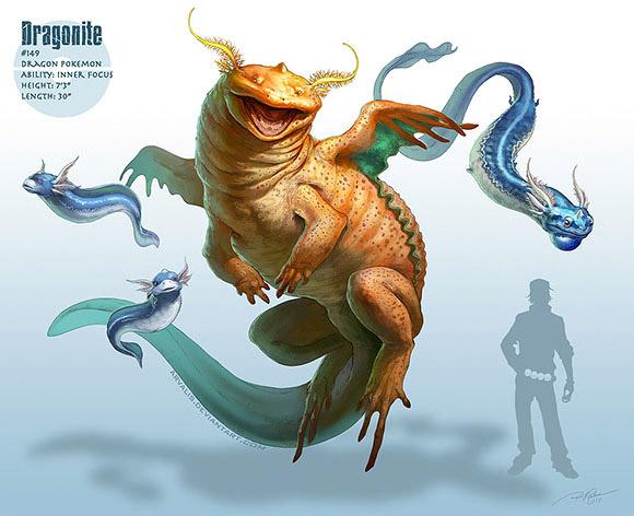 RJ Palmer aka Arvalis - Dragonite