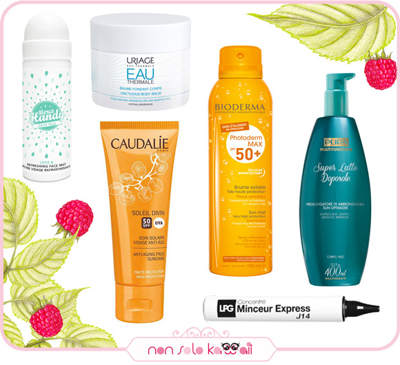 non solo Kawaii - Summer 2016 Sun Care Products