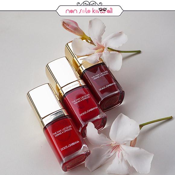 non solo Kawaii - Dolce&Gabbana Nail Laquer 101 Innocence, 103 Pure Nude, 215 Rose Petal