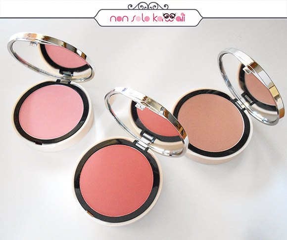 non solo Kawaii - Pupa Like a Doll Maxi Blush: 101 Sweet Pink, 204 Vibrant Coral e 301 Golden Brown