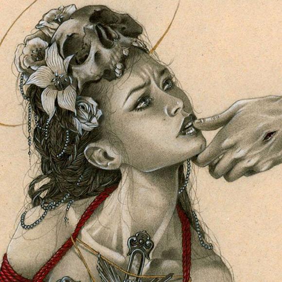 Zoe Lacchei, The Penitent Magdalene - Exit Voto, Parione9