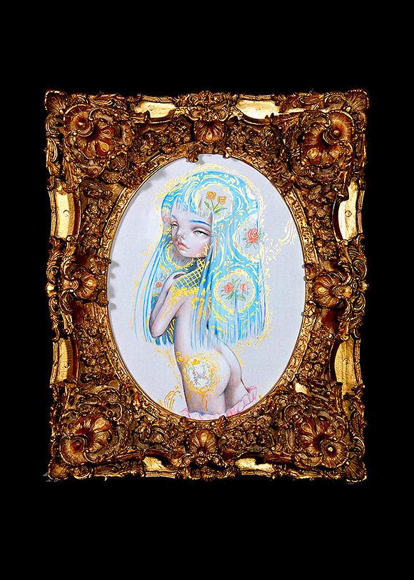 Nataly (Kukula) Abramovitch, Baby Jacquard - 10th Anniversary Exhibition, Corey Helford Gallery