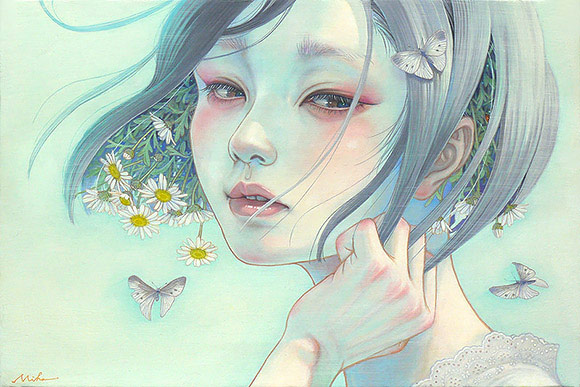 Miho Hirano, Voice in the Heart (Kokoro no Koe) - 10th Anniversary Exhibition, Corey Helford Gallery