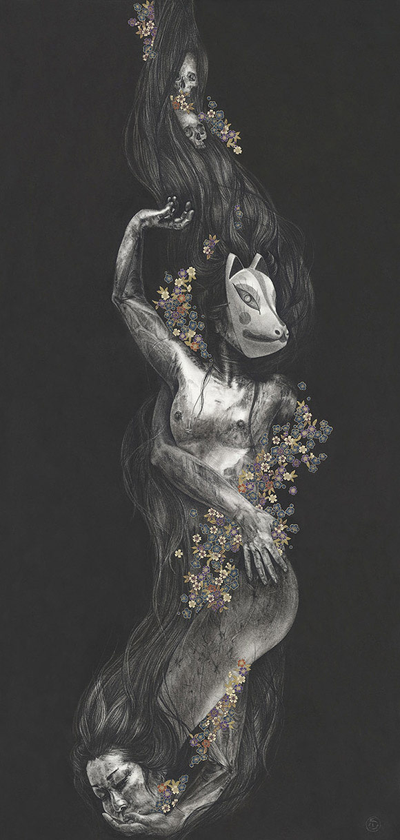 Stephanie Inagaki, (Within) Constraint - 10th Anniversary Exhibition, Corey Helford Gallery
