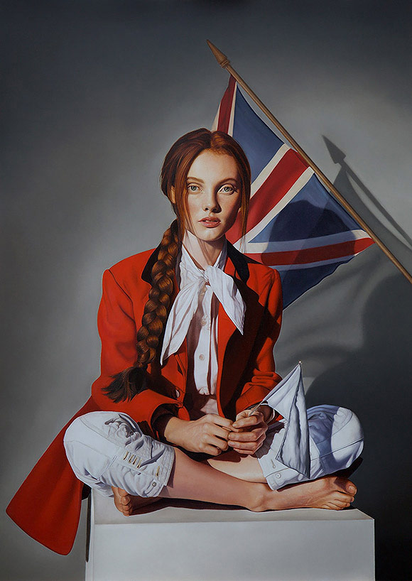 Richard Oliver, Rose of the Winds - 10th Anniversary Exhibition, Corey Helford Gallery