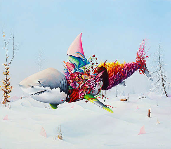 Ewa Pronczuk-Kuziak, Where is My Mind? - 10th Anniversary Exhibition, Corey Helford Gallery