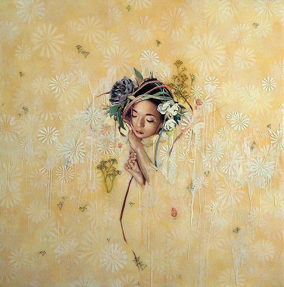 Soey Milk, Hollow Pollen No.2 - 10th Anniversary Exhibition, Corey Helford Gallery