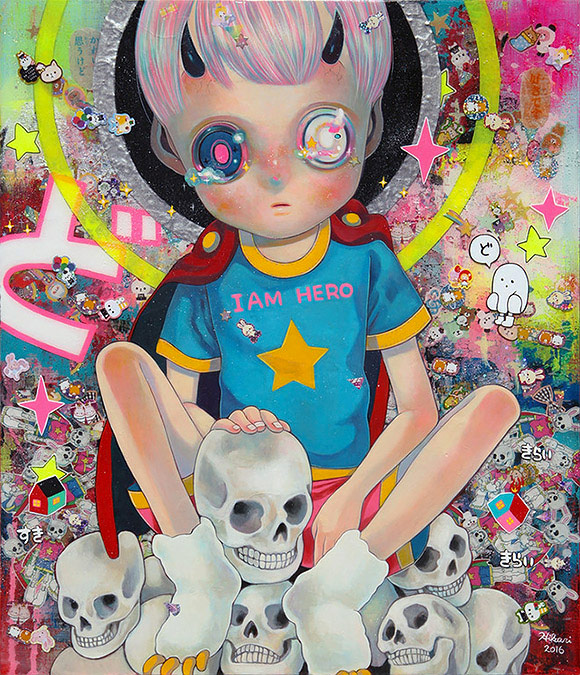 Hikari Shimoda, Memento Mori (Do) - 10th Anniversary Exhibition, Corey Helford Gallery