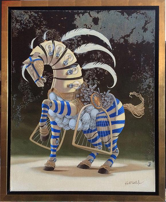 Okuda, Osocornio - 10th Anniversary Exhibition, Corey Helford Gallery