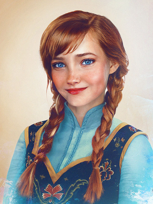 Jirka Väätäinen - Princess Anna from Frozen